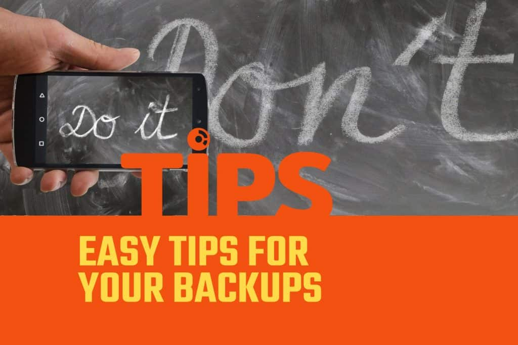 Tips to improve your office data backup